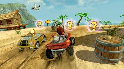 沙滩车狂飙